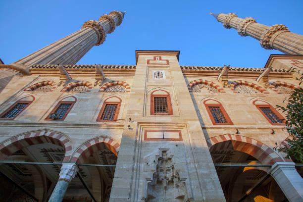 Selimiye Mosque in Edirne, Turkey stock photo