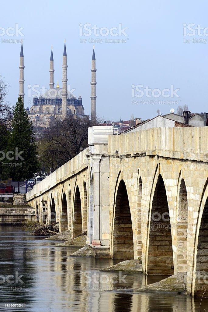 Selimiye Mosque royalty-free stock photo