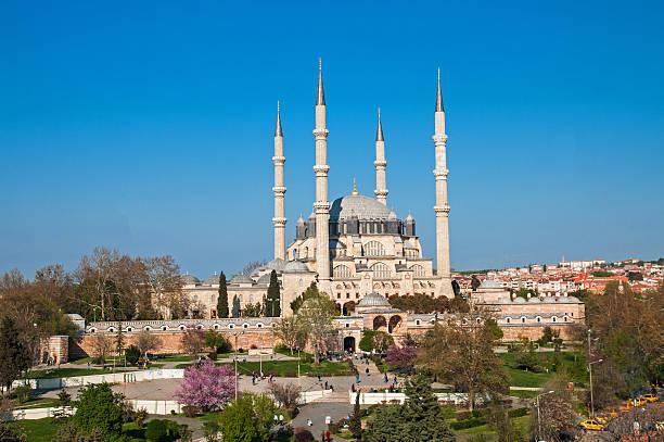 selimiye-moschee - selimiye moschee stock-fotos und bilder