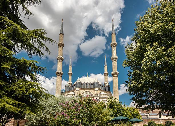selimiye-moschee. - selimiye moschee stock-fotos und bilder