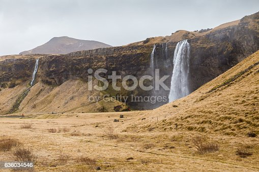 Seljalandsfoss, one of the greatest waterfalls in Southe Iceland