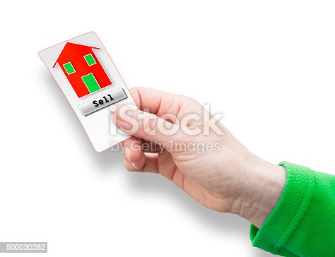 istock Sell a new house - concept image 500030382