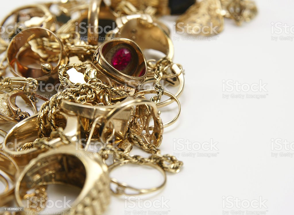 Sell your gold royalty-free stock photo