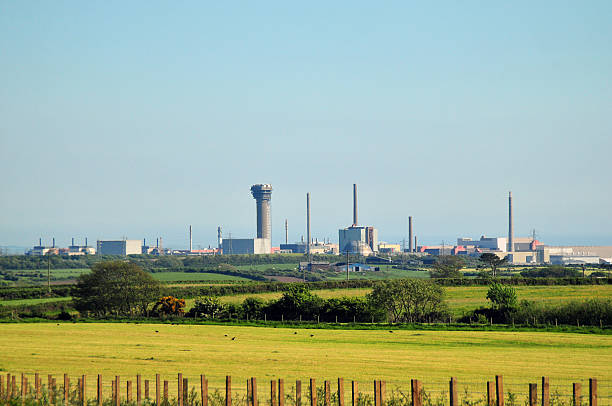 Sellafield, Cumbria Sellafield is a nuclear reprocessing plant in Cumbria formerly known as Windscale. cumbria stock pictures, royalty-free photos & images