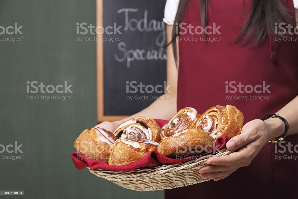 Selling Bread royalty-free stock photo