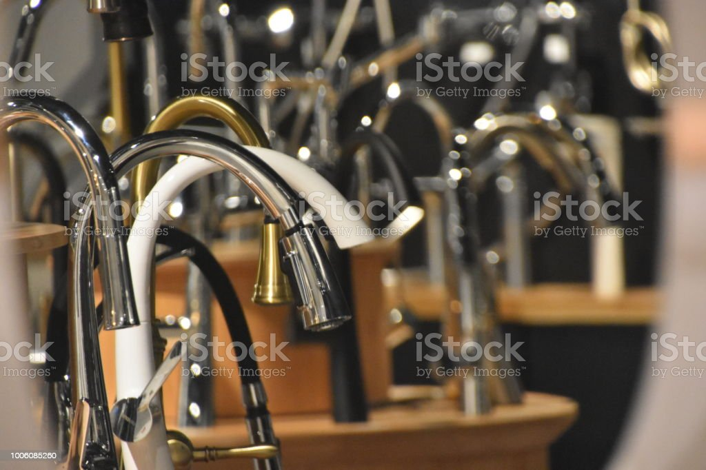 Selling Faucets In The Store Stock Photo & More Pictures of ...
