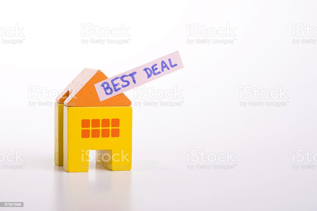 selling houses royalty-free stock photo