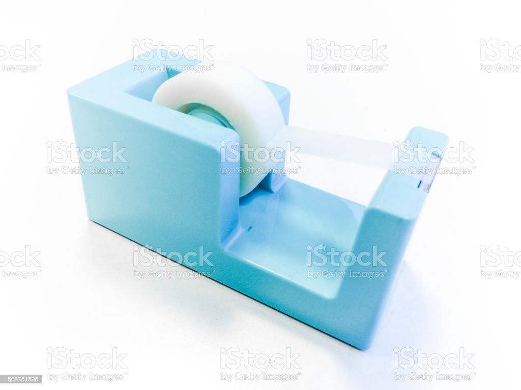 Sellotape tape dispenser stock photo