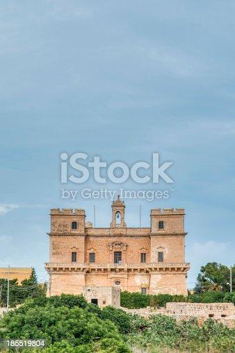 istock Selmun Castle located in Malta 185519804