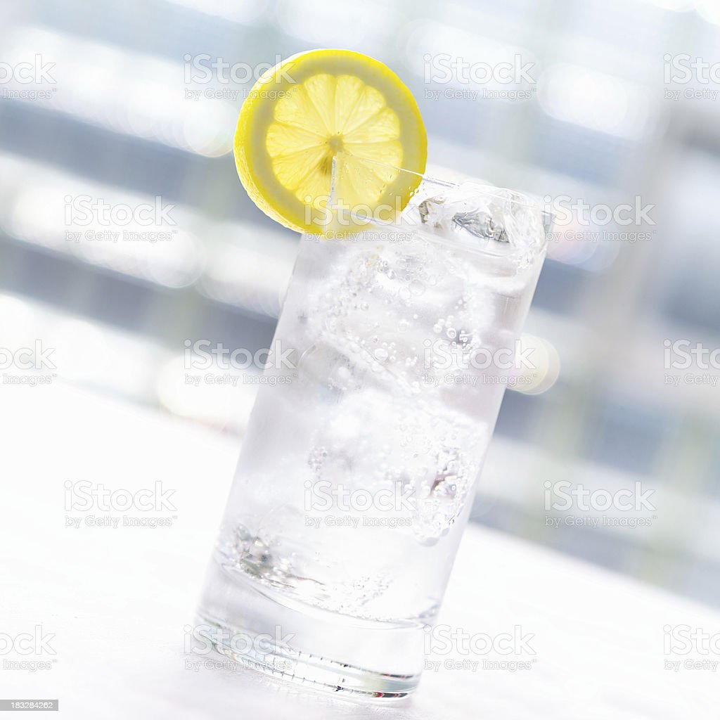 Seltzer royalty-free stock photo