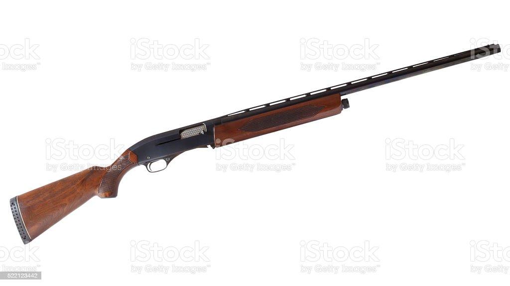 Semi auto shotgun stock photo