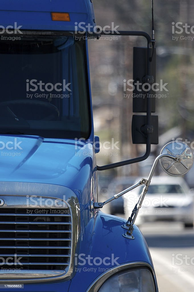 Semi Detail stock photo
