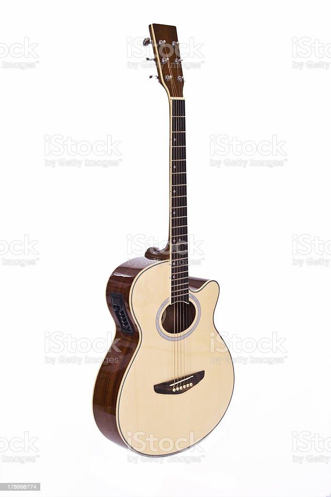 Semi Guitarra elétrica - fotografia de stock