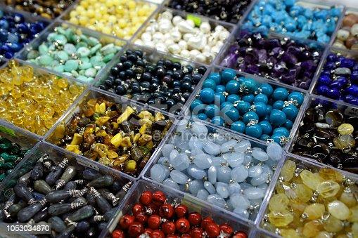 istock semi precious gemstones 1053034670
