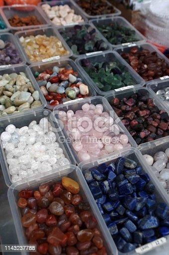istock Semi precious gemstones 1143237788