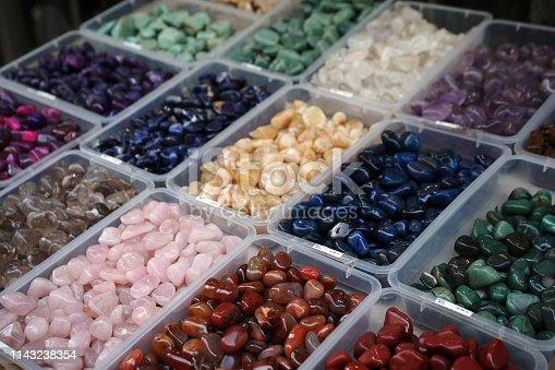 istock Semi precious gemstones 1143238354