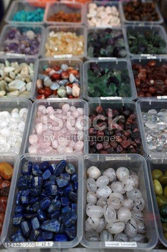 istock Semi precious gemstones 1143239565