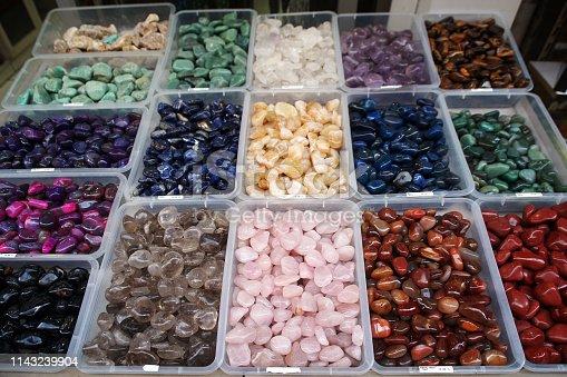 istock Semi precious gemstones 1143239904