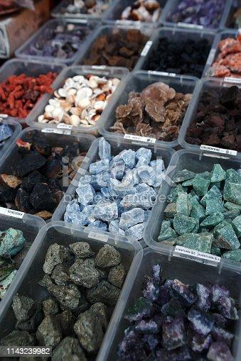 istock Semi precious gemstones 1143239982