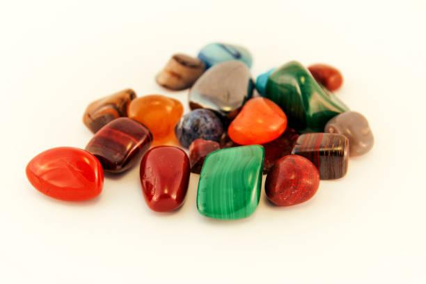 Semi Precious Stones Crystal Stone Types Healing Stones Worry Stones