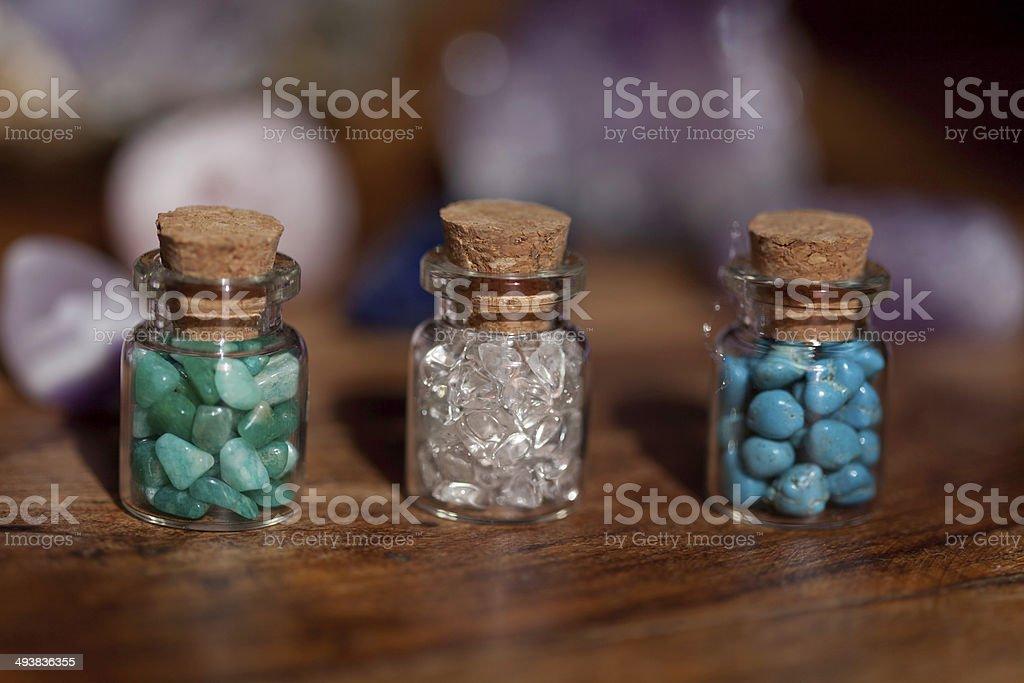 Semi Precious Stones royalty-free stock photo