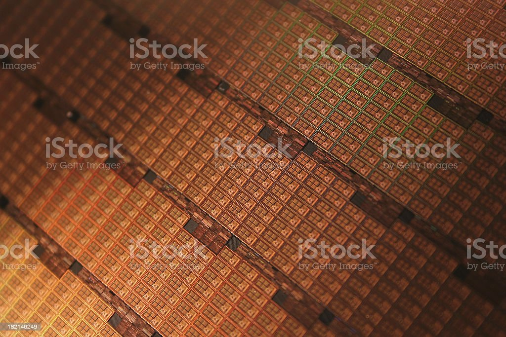semiconductor wafer stock photo