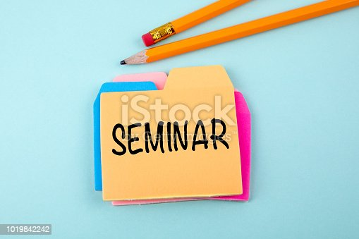 istock Seminar, Business and Education Concept 1019842242