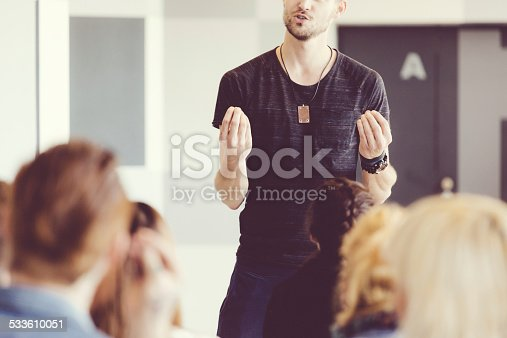 istock Seminar for students 533610051