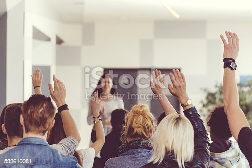 istock Seminar for students 533610081
