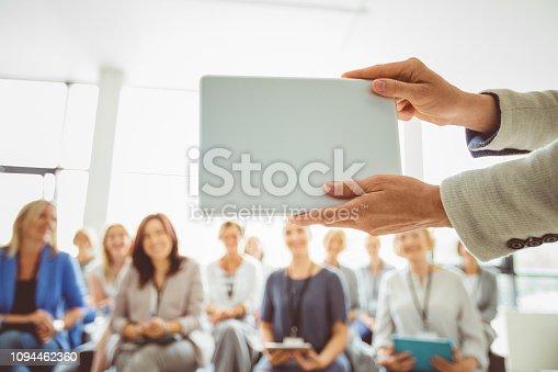 481711196istockphoto Seminar for women 1094462360