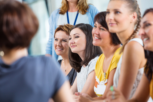 Seminar For Women Stock Photo - Download Image Now