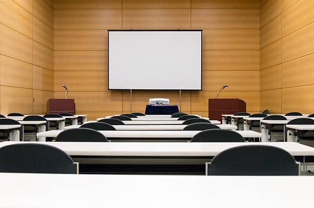 seminar/meetingraum - tageslichtbeamer stock-fotos und bilder