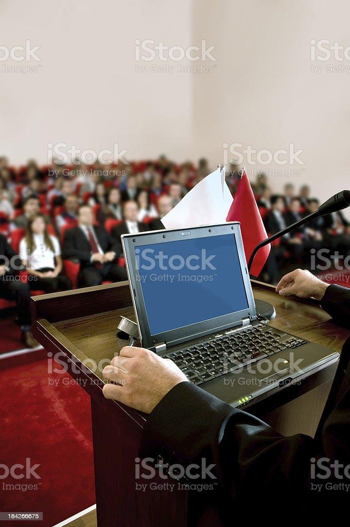 Seminar royalty-free stock photo