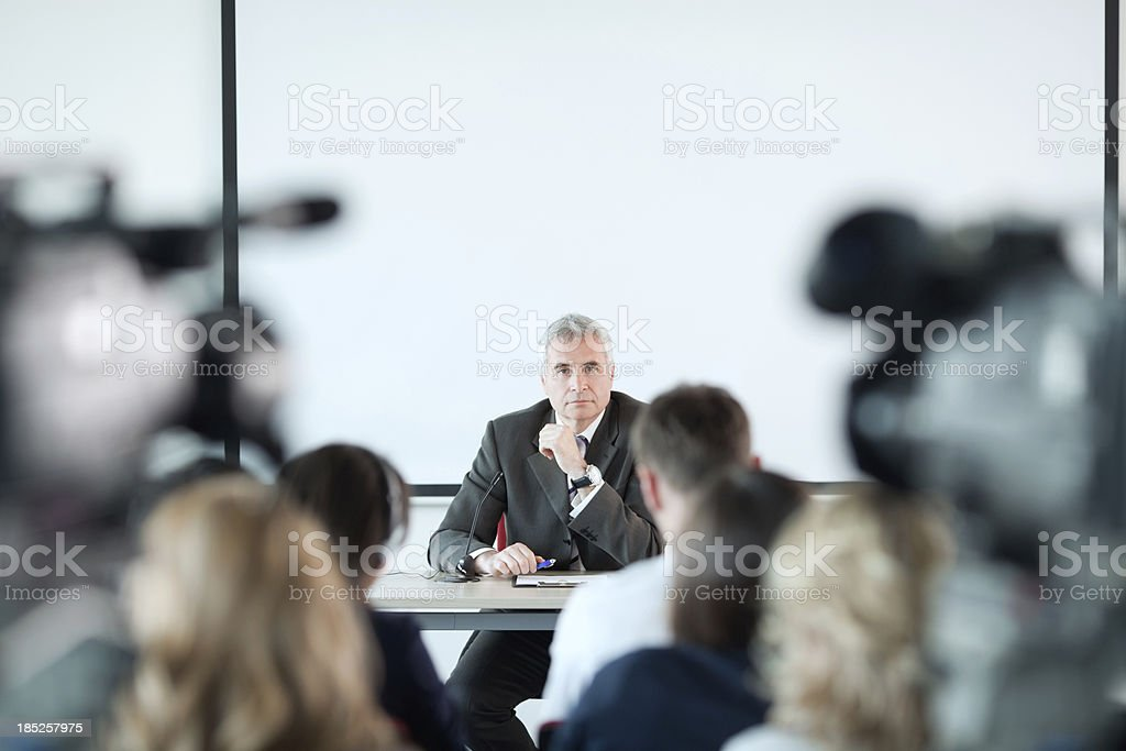 Seminar. royalty-free stock photo