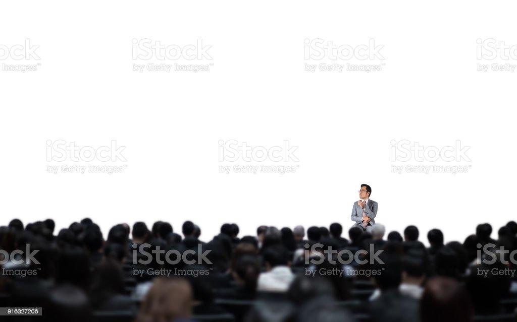 Im seminar – Foto