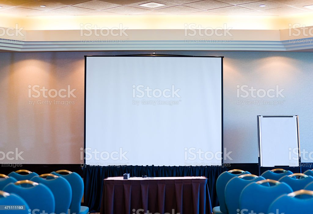 Seminar room royalty-free stock photo