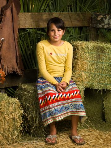 Seminole Little Cowgirl