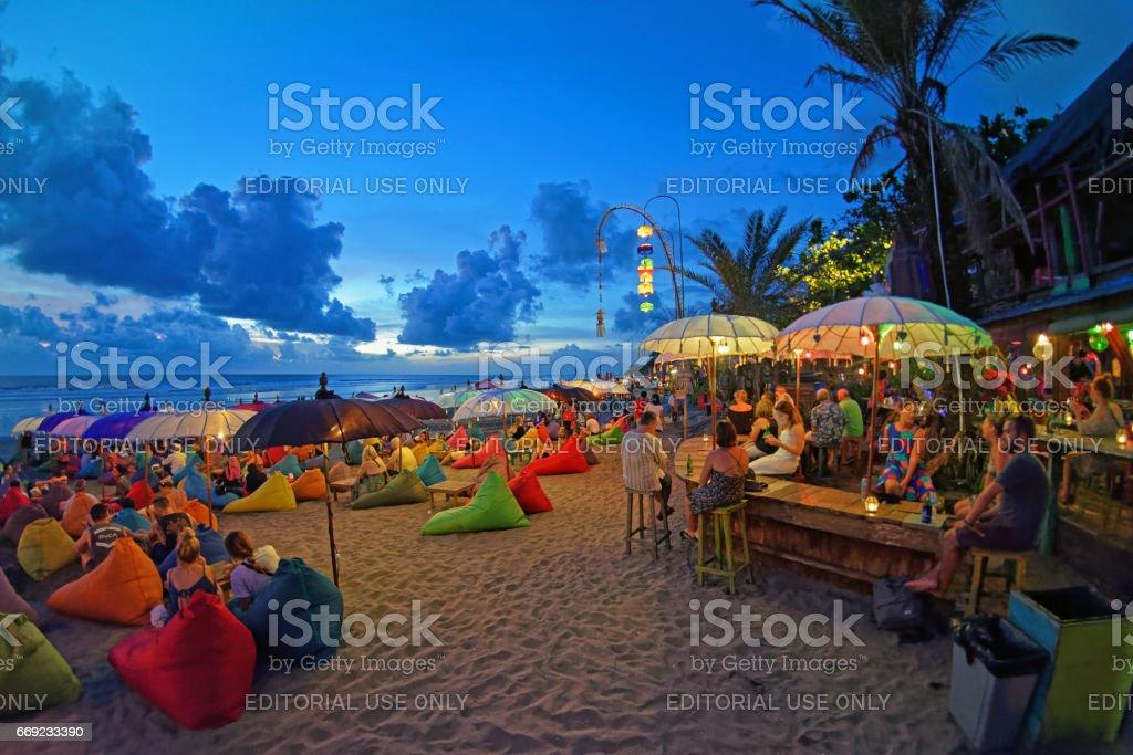 Seminyak Double Six beach bars foto
