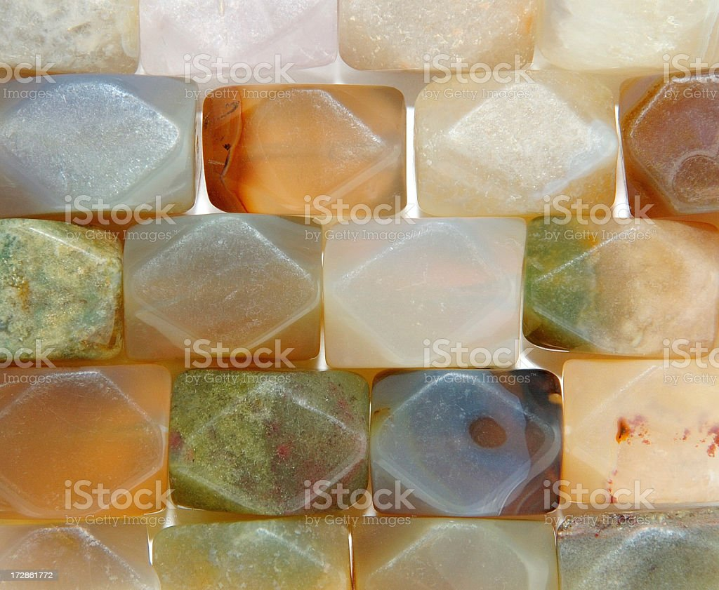 Semi-precious stones royalty-free stock photo