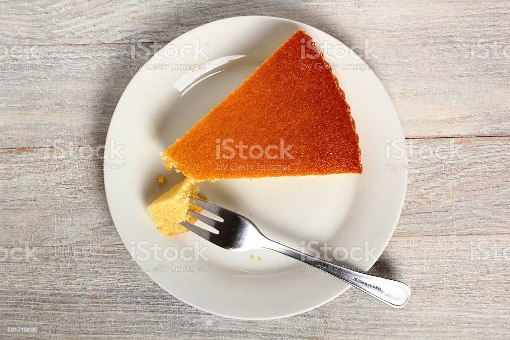 Semolina Cake stock photo