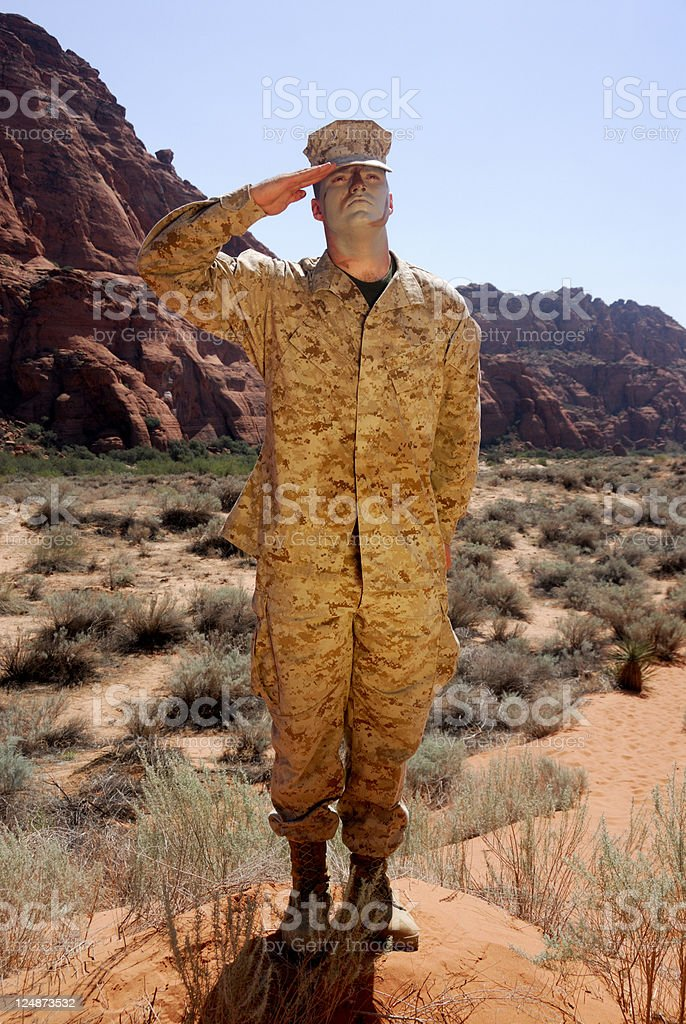 Semper Fi - Always Faithful royalty-free stock photo