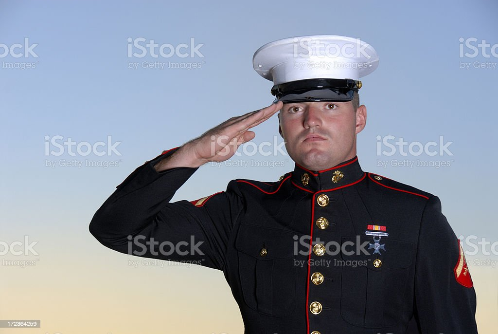 Semper Fi - Always Faithful stock photo