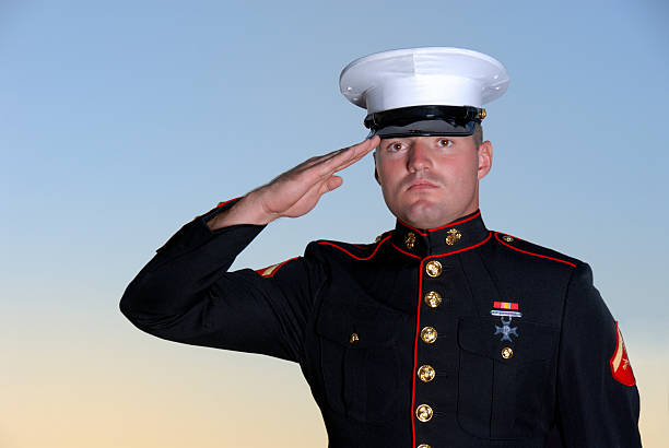 semper fi - always faithful - marines stock photos and pictures