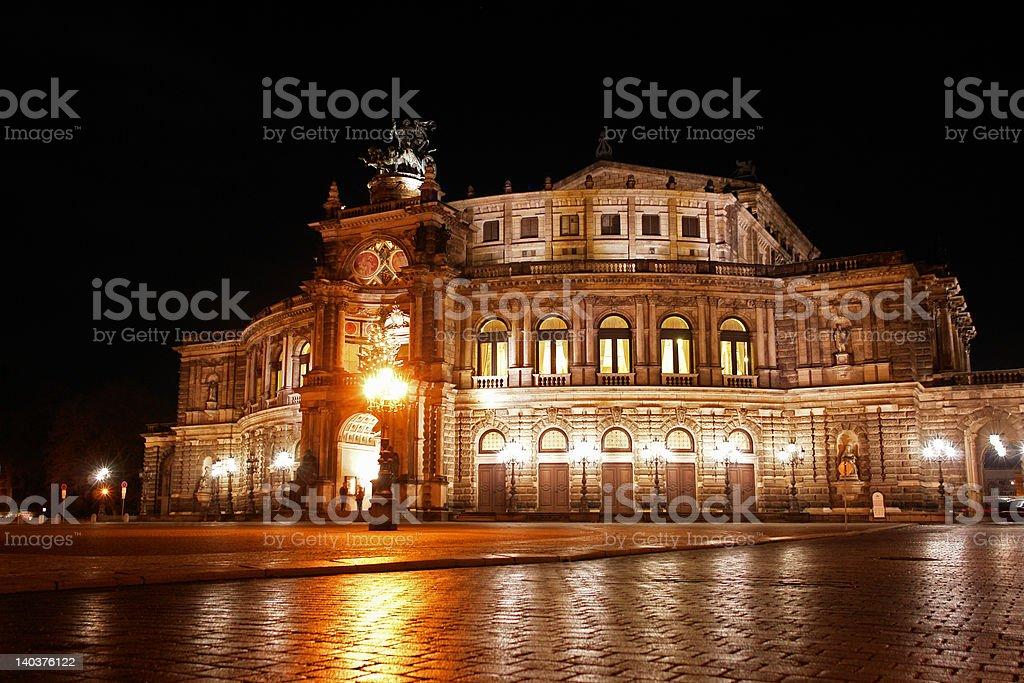 Semper Oper von Dresden stock photo