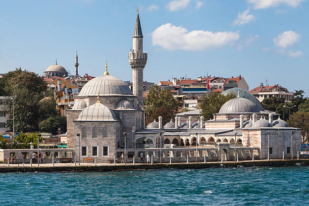 Semsi Pasha Mosque stock photo