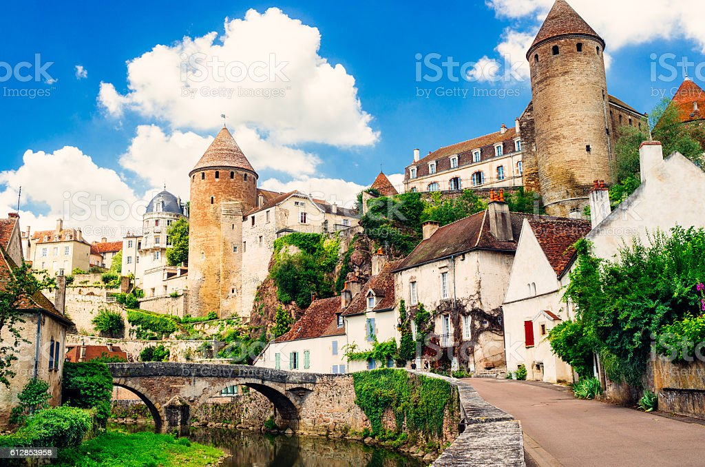 semurenauxois burgundy france stock photo more pictures of architecture istock. Black Bedroom Furniture Sets. Home Design Ideas