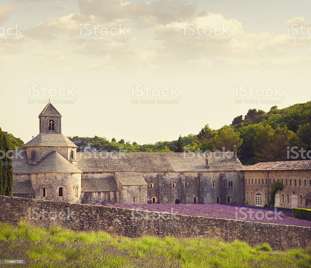 Senanque Abbey (Provence, France) royalty-free stock photo