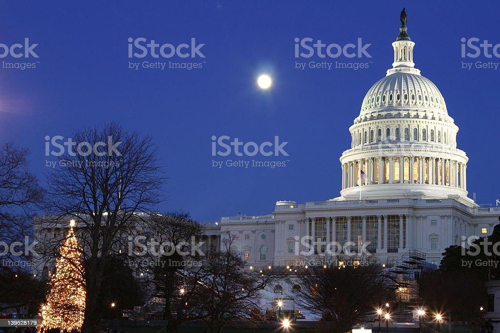US Senate building royalty-free stock photo