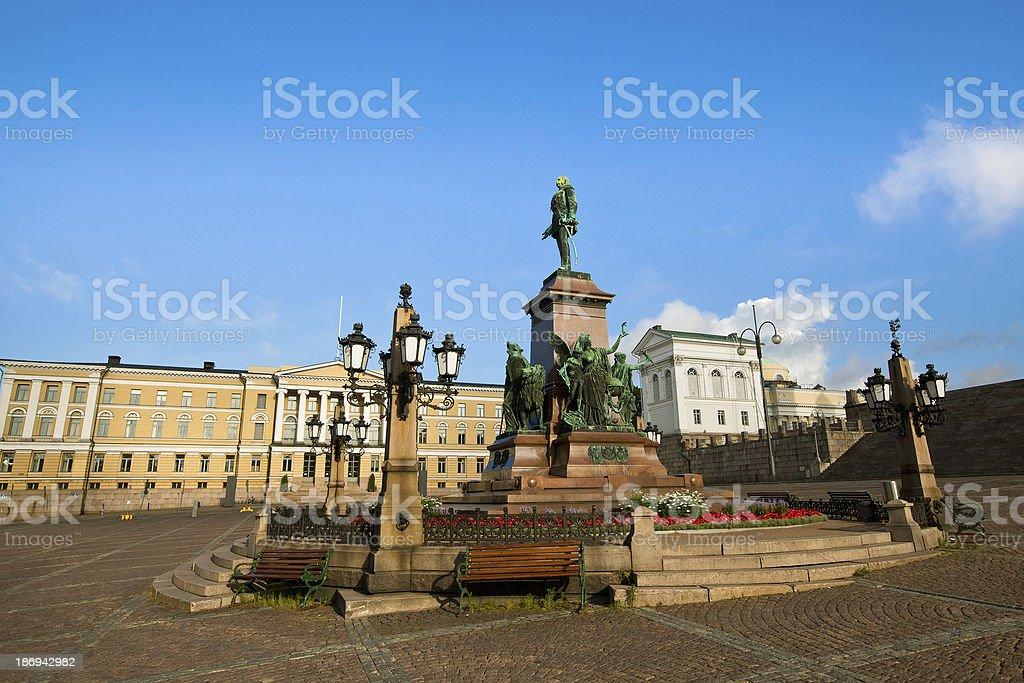 Senate Square in Helsinki, Finland. royalty-free stock photo