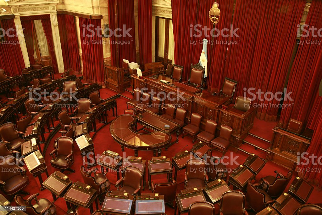 Senators stock photo